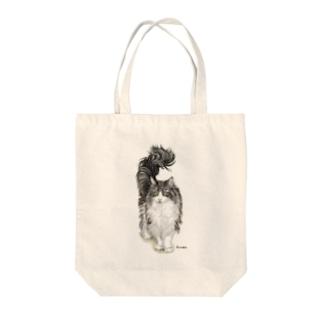 ノルウエージャンのフクちゃん Tote bags