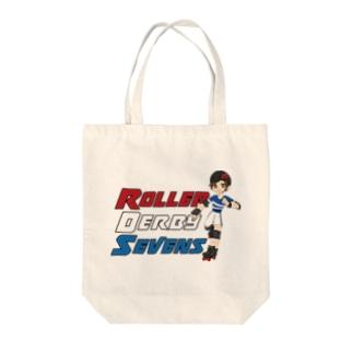 Roller Derby SevensのRoller Derby Sevens (Nanasuke) Tote bags