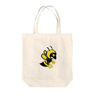 bee T shirt Tote bags