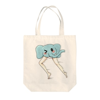 ぞうくん Tote bags