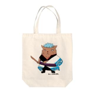 銀コスねこさん Tote bags