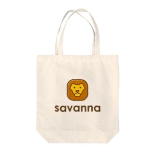 savanna Tote bags