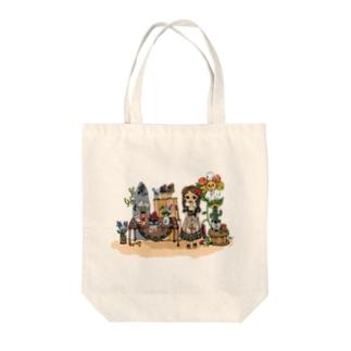 ちいさなお花屋さん Tote bags