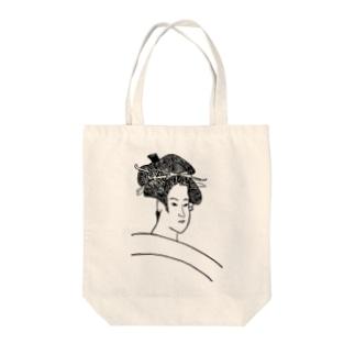 JUNSEN(純仙)雪乃嬢小梅 Tote bags