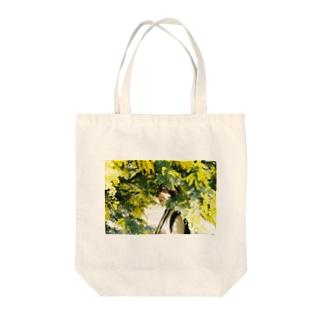 ミモザ#3 Tote bags