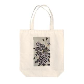 Black Rose Tote bags