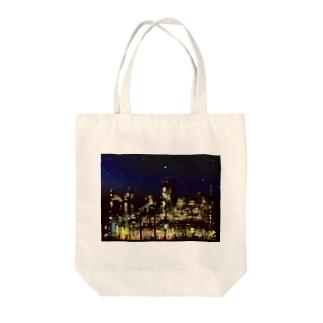 工場moe!(夜空) Tote bags