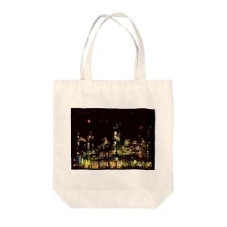 工場moe!(火花) Tote bags