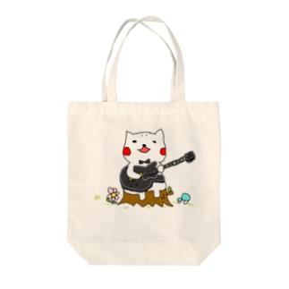 B.B.シロさん Tote bags