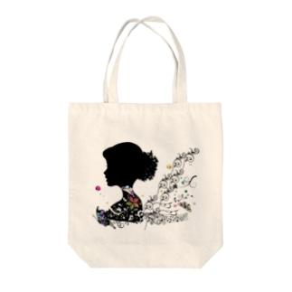 蝶々 Tote bags
