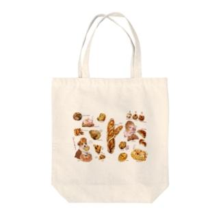 アニマルベーカリー Tote bags