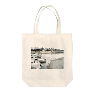 きのう、鴨川で トートバッグ