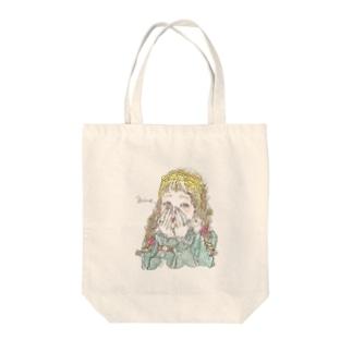 おしゃれ 女の子 Tote bags