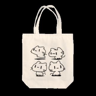 どどど素人のどどねこ-ぜんぶ- Tote bags