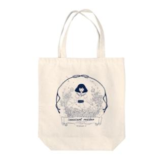 ひなぎく Tote bags