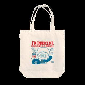 egu shopのinnocent chips  トートバッグ
