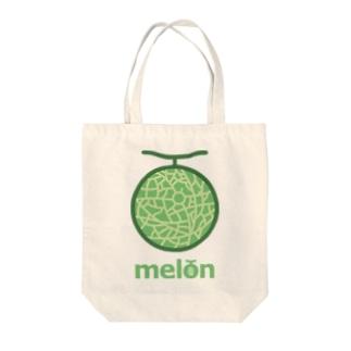 メロンウェイ Tote bags