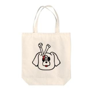 エキセントリッククアニマル 犬 Tote bags