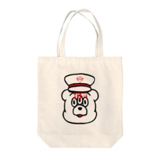 エキセントリッククアニマル くま Tote bags