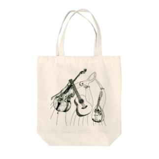 マンドリンオーケストラ Tote bags