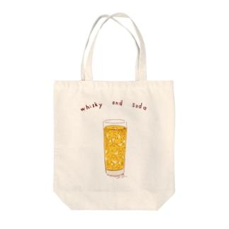 ハイボール好き専用デザイン Tote bags