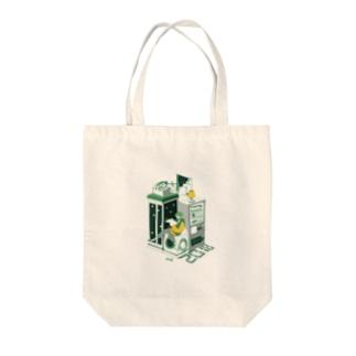 しゅんらいをおもう Tote bags