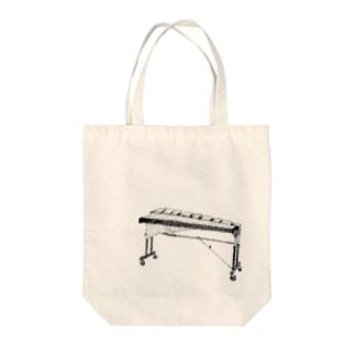 シロフォン Tote bags