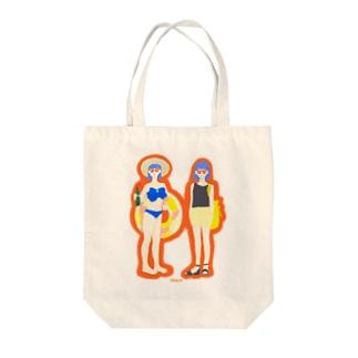 なつこちゃん Tote bags