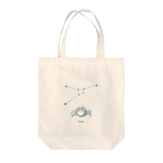 蟹座|キャンサーといっしょ Tote bags