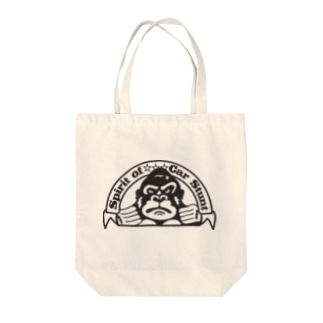 LUCKYゴリラ Tote bags