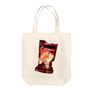 w.w.5.(working Walker!5) Tote bags