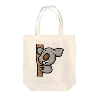 コアラ Tote bags