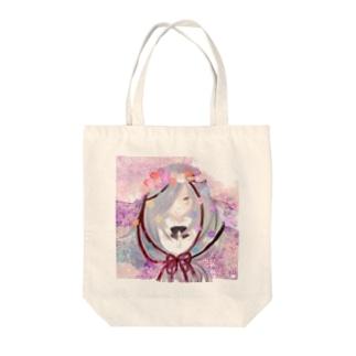 華のショウジョ Tote bags