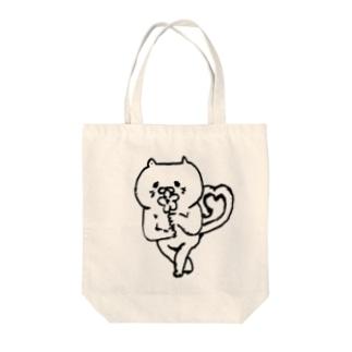 恋するねこ Tote bags