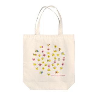 キュートなトリさんペムペム② Tote bags