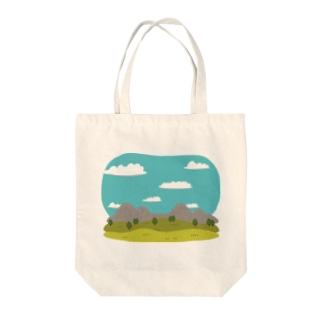LandscapeMountain Tote bags