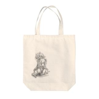 一緒♪ Tote bags
