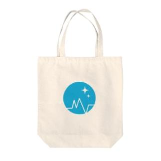 装置メガネ ロゴ(ロゴのみ) Tote bags