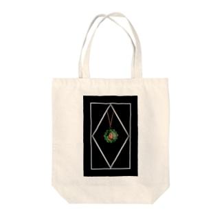 エメラルド Tote bags