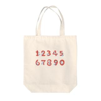 猫のスージー Tote bags