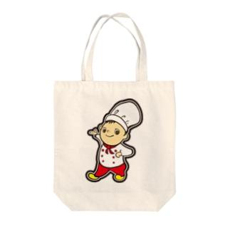 コックさん Ver.2 Tote bags