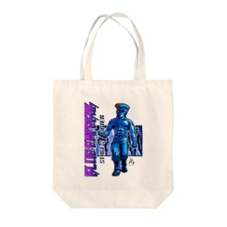 BLUE Emperorシンジver02 Tote bags