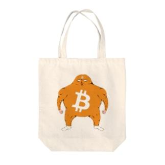 ビットコイン君 トートバッグ