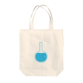 フラスコ Tote bags