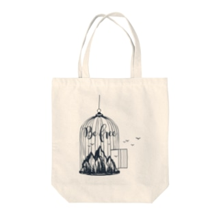 Be Free Tote bags