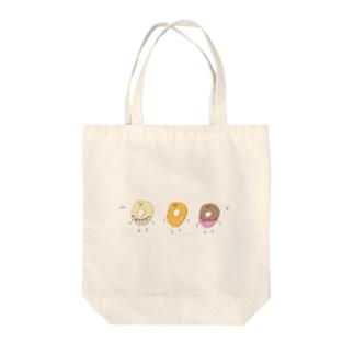 唄うドーナッツ Tote bags