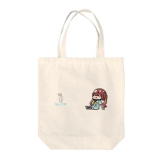 ぷーっ[ちゅーにLIFE] Tote bags
