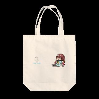 crossmindのぷーっ[ちゅーにLIFE] Tote bags