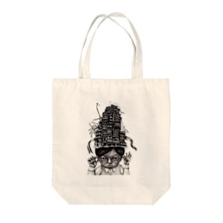 九龍城 Tote bags