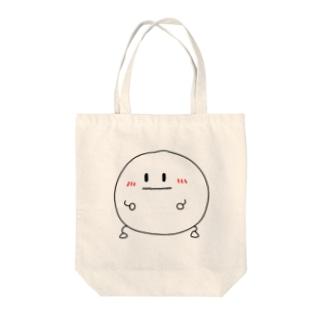 ゆきぼーい Tote bags
